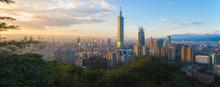 Panorama Of Taiwan City Skylin...