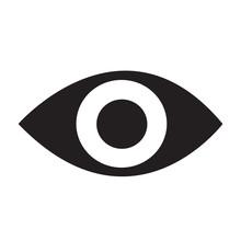 Eye Icon Vector Illustration