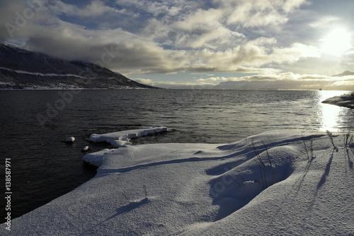 Spoed Foto op Canvas Noord Europa Tromsö