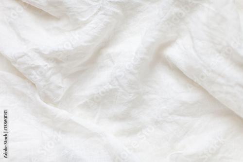 Fotografie, Obraz White linen cloth background