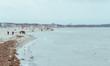 Walk on the beach Rostock Warnemünde