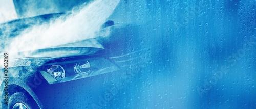 Car Wash Business Banner