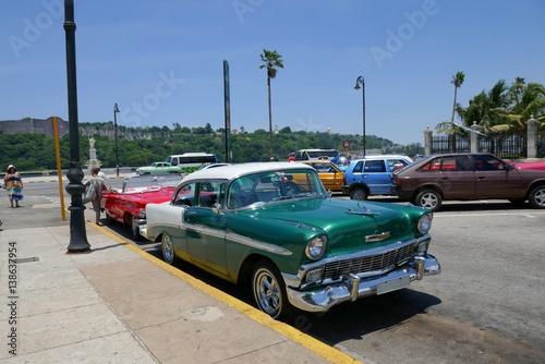 Poster Havana Oldtimer auf Kuba