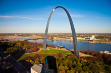 Gateway Arch In St Louis, Miss...