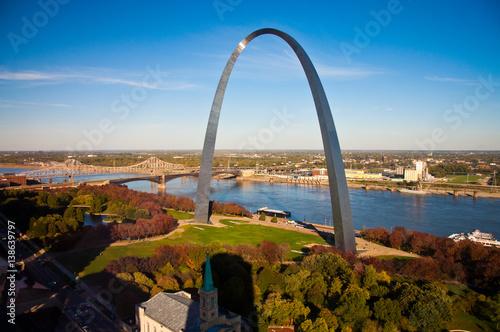 Gateway Arch in St Louis, Missouri Wallpaper Mural