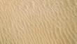 White and yellow sand in the desert beach