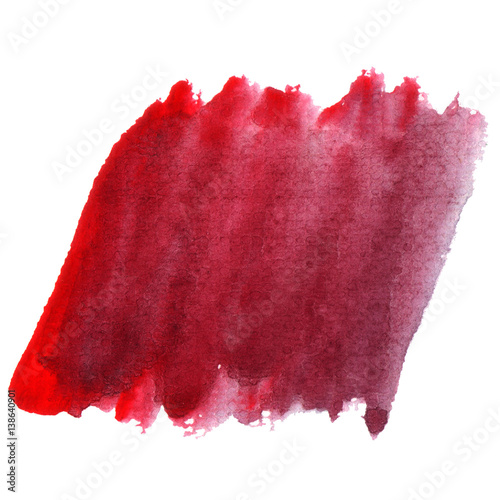 Poster Portrait Aquarelle Abstract colorful hand draw watercolor background.