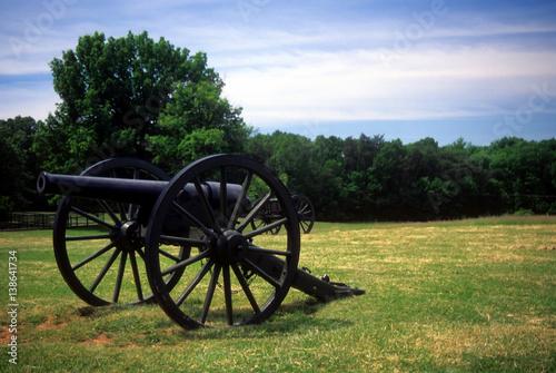 Fotografie, Obraz  Three inch rifled cannon
