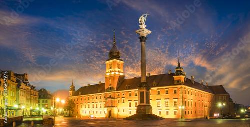 Fototapeta Royal Castle in Warsaw obraz