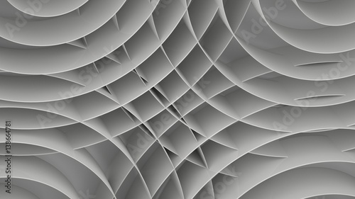 Zdjęcie XXL Abstrakcjonistyczny tło z spiralami, 3 d odpłacają się