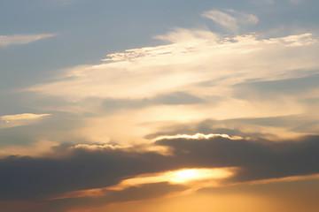 Fototapeta Evening sky background