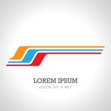 Stripe Line Speed Logo
