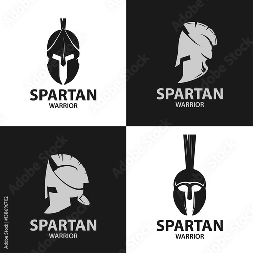 Helmets Spartan Warriors Icon Buy This Stock Vector And Explore
