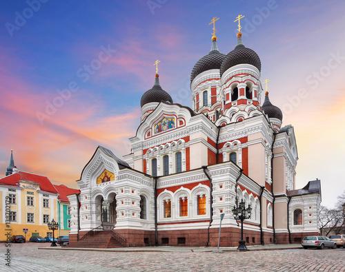 Fototapeta  Tallinn, Alexander Nevsky Cathedral, Estonia
