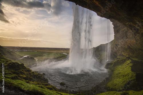 Keuken foto achterwand Watervallen Seljalandsfoss 3