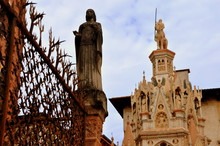 Berühmtes Gotisches Scaliger-Grab