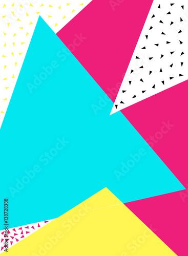 kolorowe-abstrakcyjne-tlo-styl-lat-80-90