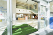 canvas print picture - Door Mats At The Entrance Of Hospital