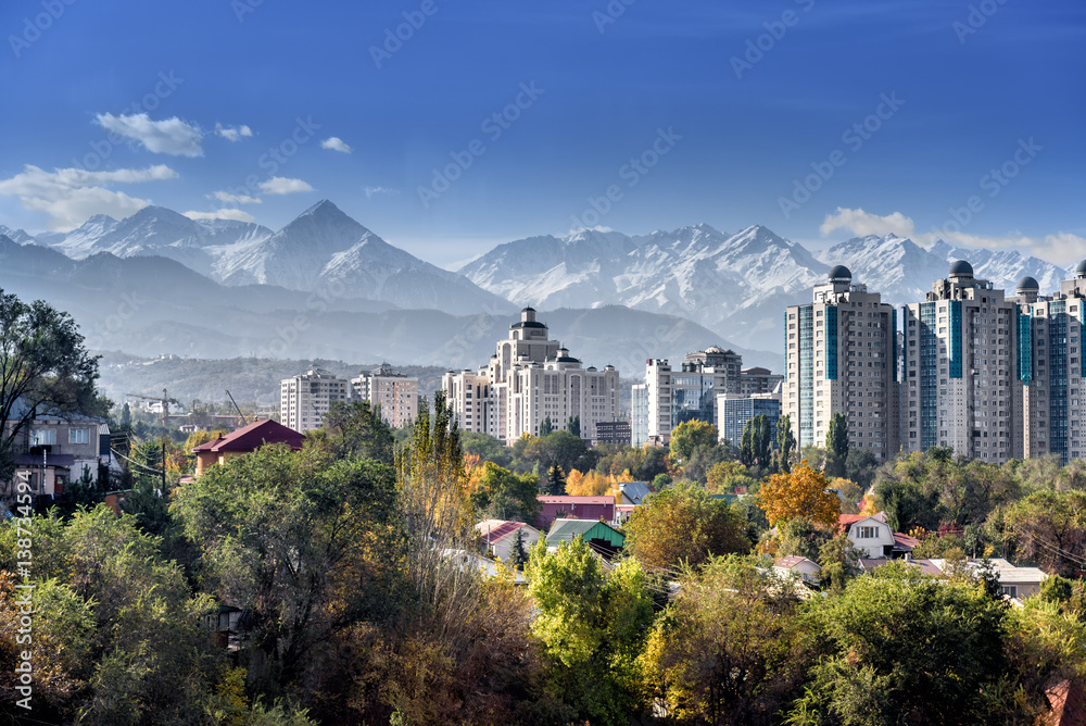 Fototapeta Kazakhstan Almaty city
