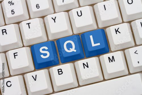 Fotografie, Obraz  Computer coding with SQL