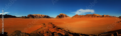 Obraz na plátně Jordan Wadi Rum