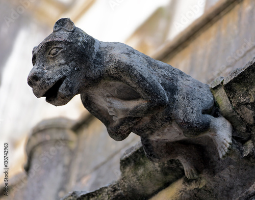 Photo  Fragment of the Monastery of Christ the order of the knights Templar in Tomar, P