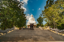 Statue Of The Buddha Against T...
