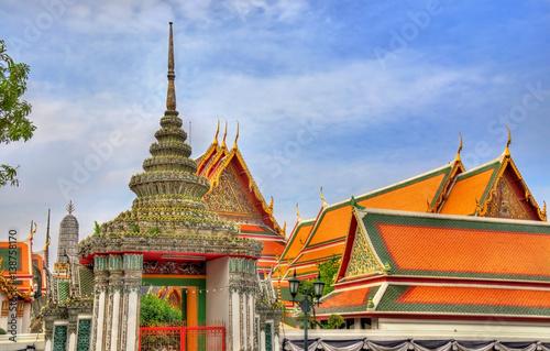 Photo  Wat Pho, a Buddhist temple complex in Bangkok, Thailand