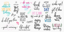 Lettering Photography Overlay Set.