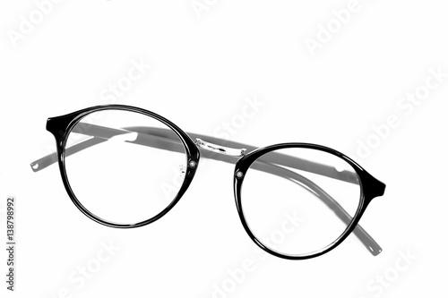 Fashion Black Eye Glasses Isolated On White Background Buy