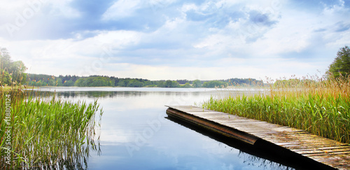 Canvas Prints Lake See