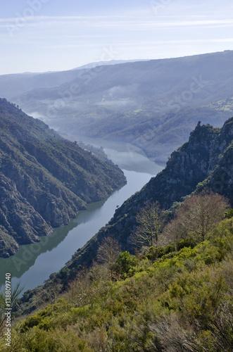 Spectacular Canyon of Sil – Ribeira Sacra – Galicia Spain