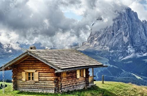 Photo  Malga alpina