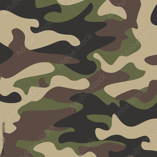 Fotografía  Camouflage pattern background