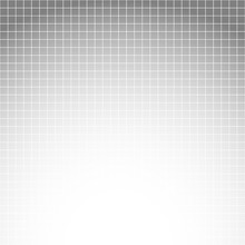 White Line Square Grid On Grey...