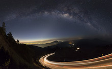 Milky Way And Light From The R...
