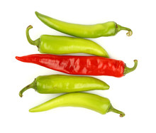 Green Fresh Jalapeno Peppers C...