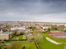 Aerial View Of South London Cr...