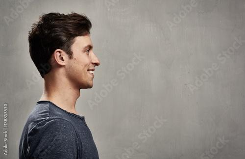 Fotografía  Man face profile