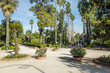 Park Villa Giulia in Palermo; Italy