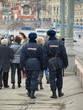 Полиция охраняет порядок на улицах Москвы