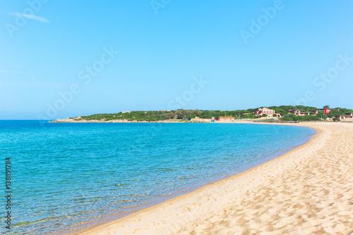 Photo  The beautiiful Porto Pollo beach at Palau, Sardinia italy