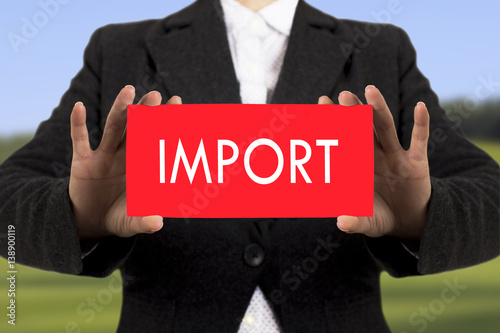 Valokuva  import