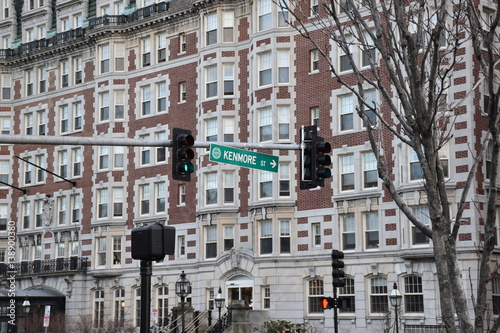 Boston Traffic Light and Housing - Buy this stock photo and explore
