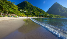 Amazing St Lucia Beach