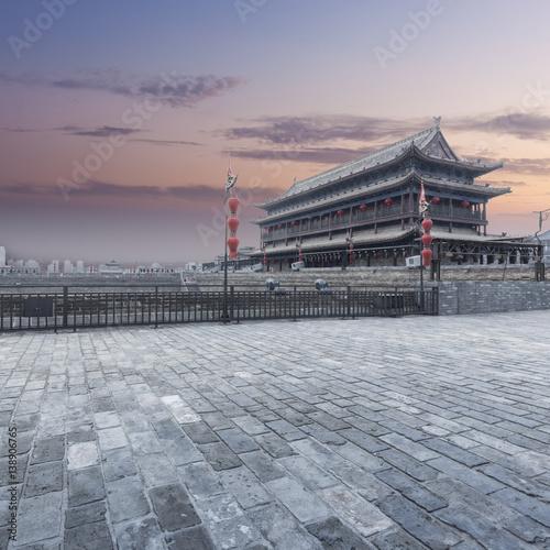 Recess Fitting Xian The Xi'an Circumvallation