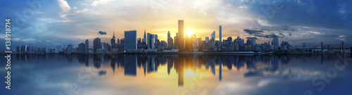 Foto op Plexiglas New York New York City skyline