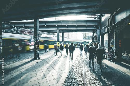Fotografie, Obraz  Epic Urban Scenery - Berlin