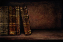Vintage Background With Books ...