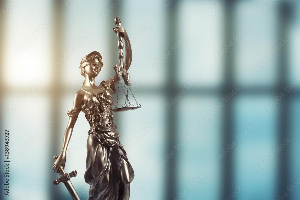 Fototapeta Justice Statue